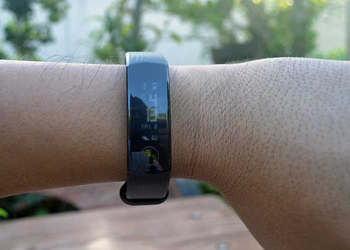 test smartpband huawei honor band 3