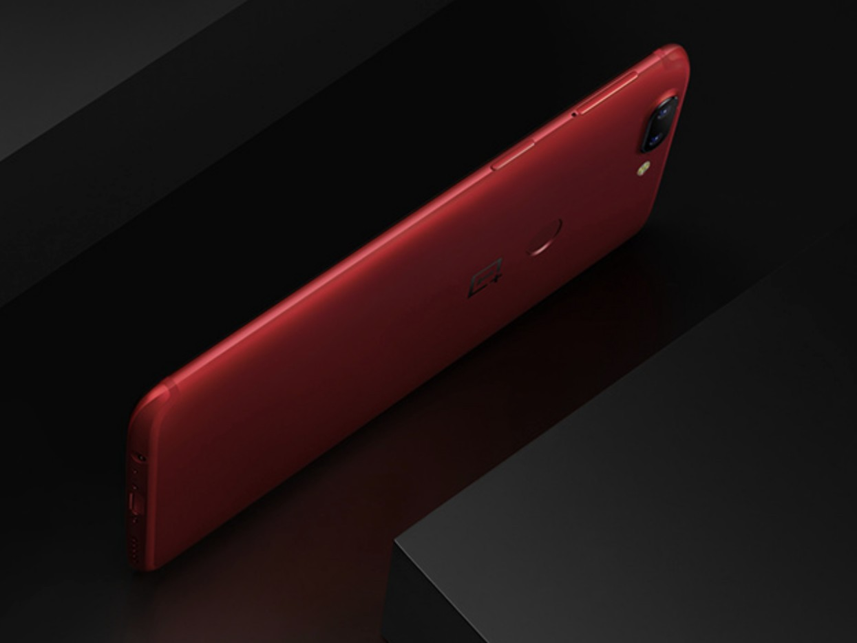 OnePlus-5T-rouge lave