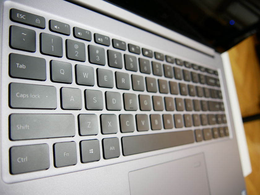Test Xiaomi Mi Notebook Pro clavier qwerty