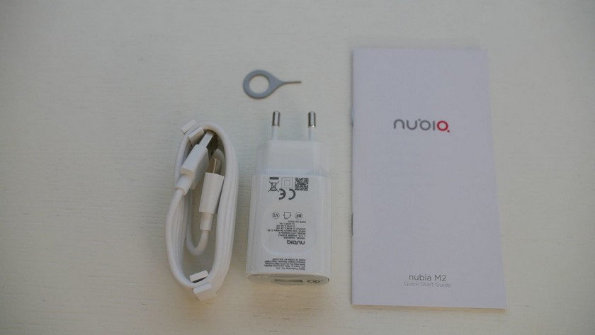 Test Nubia M2