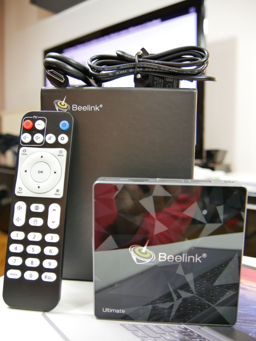 Test Box TV Beelink GT1 Ultimate package complet