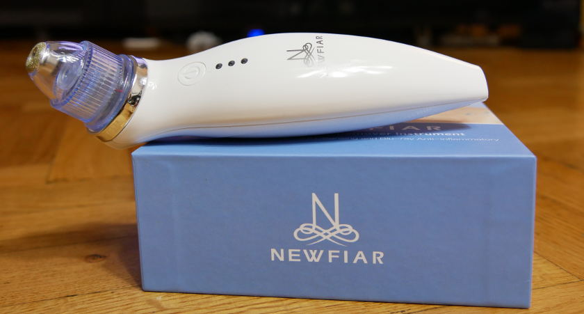 Test Newfiar X6 aspirateur point noirs