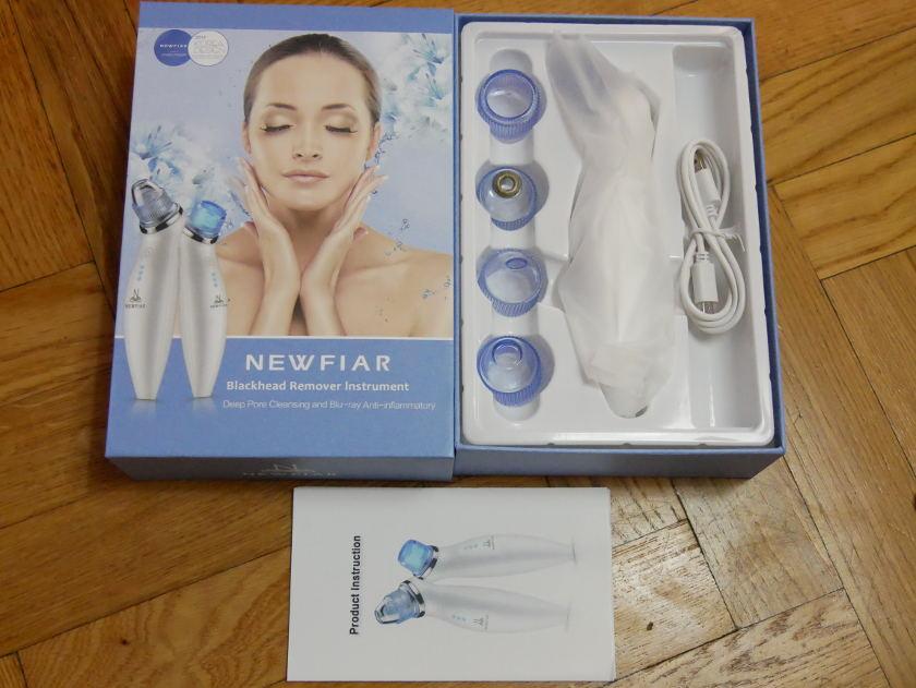 Test Newfiar X6 boite et accessoires