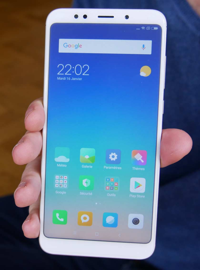 Test Xiaomi Redmi 5 Plus écran