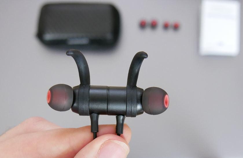 Test casque blutooth Dodocool DA110 ecouteurs assemblé par aimant
