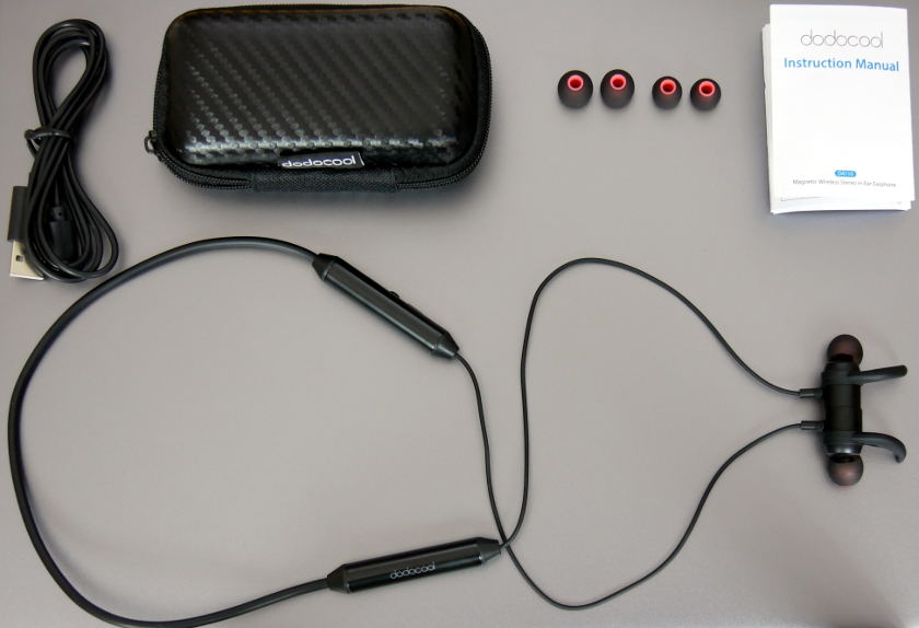 Test casque blutooth Dodocool DA110 package