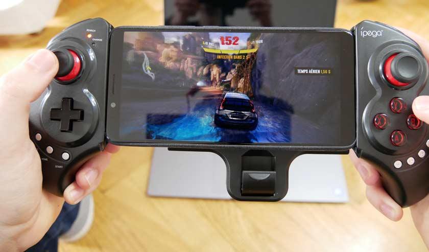 test iPEGA 9023 manette bluetooth en jeux avec smartphone android
