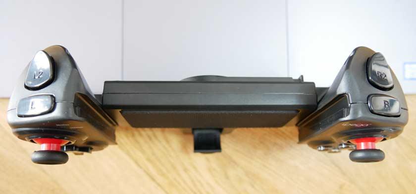 test iPEGA 9023 manette bluetooth gâchettes et encoche pour tablette
