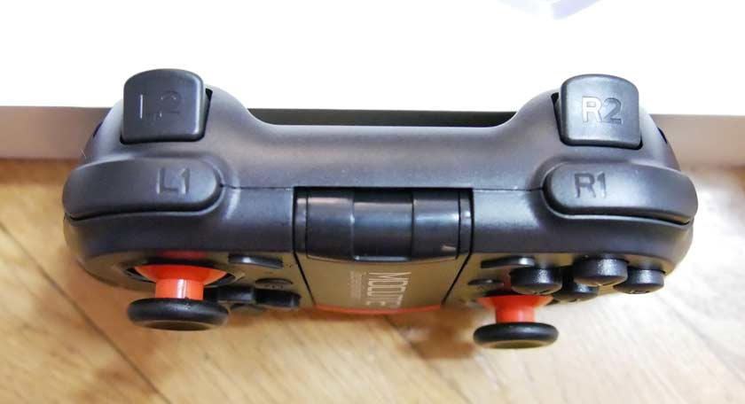 test manette bluetooth mocute 050 gachettes