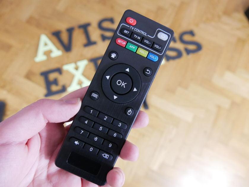 Alfawise H96 Pro+ télécommande