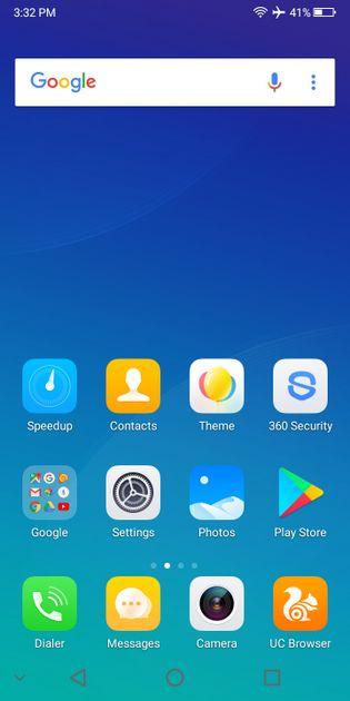 Bluboo S8 plus test