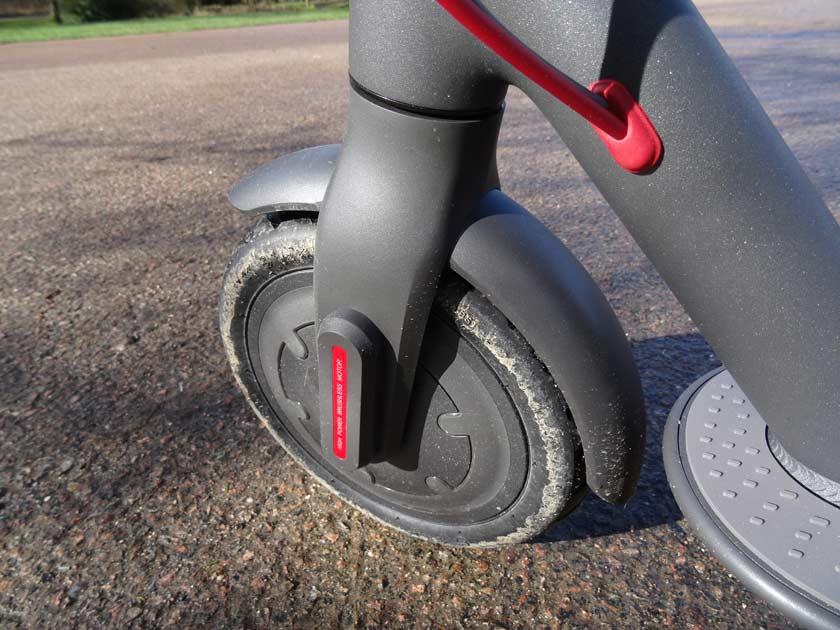 Test xiaomi m187 youth edition roue avant avec moteur