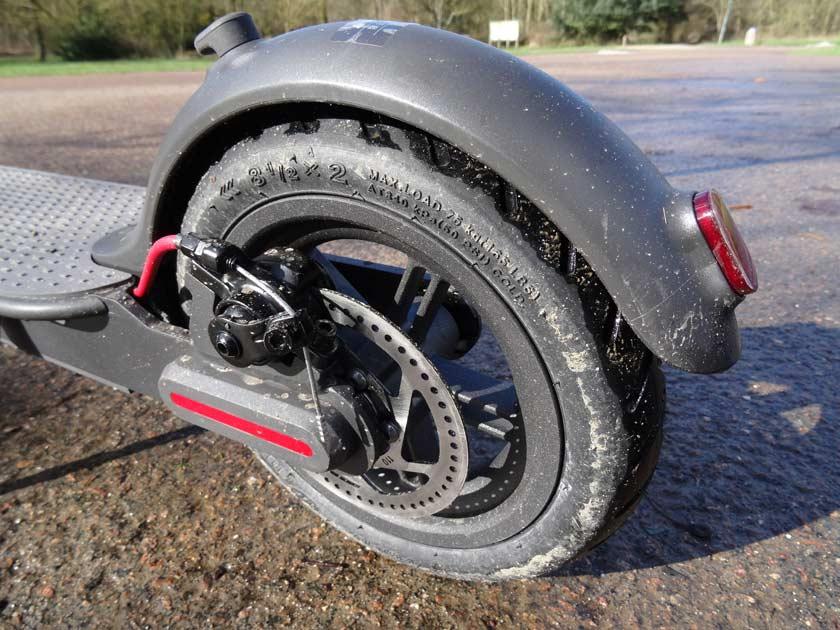 Test xiaomi youth edition m187 roue arriere avec frein à disque