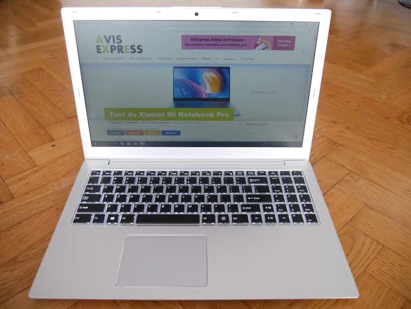 Voyo i7 test affichage ecran