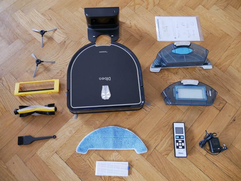 Dibea D960 accessoires