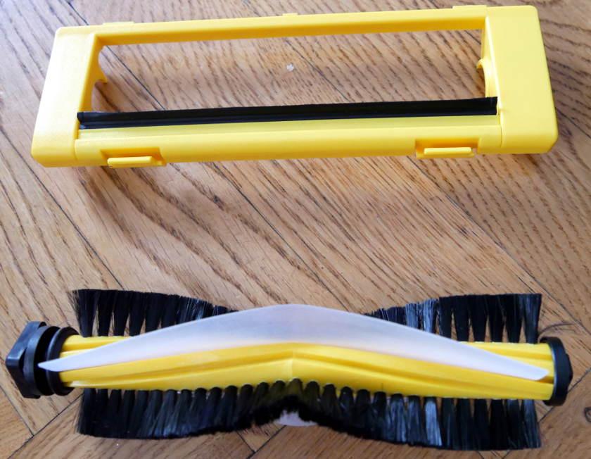 Dibea D960 brosse rotative poils caoutchouc
