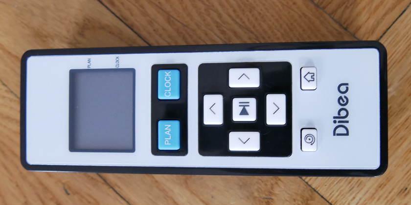 Dibea D960 télécommande