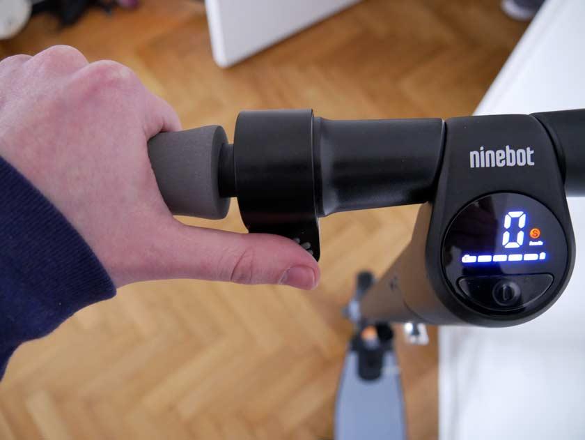 Segway Ninebot ES1 gâchette frein