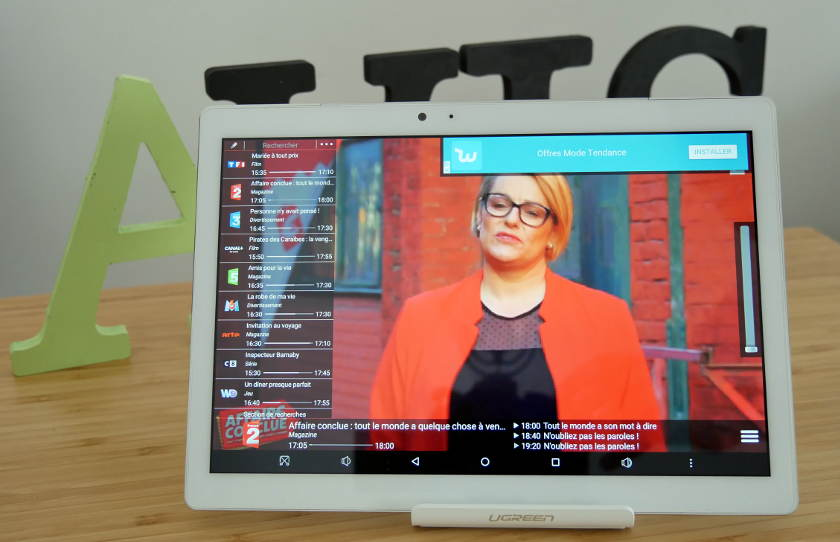 Teclast Master T10 test streaming tv