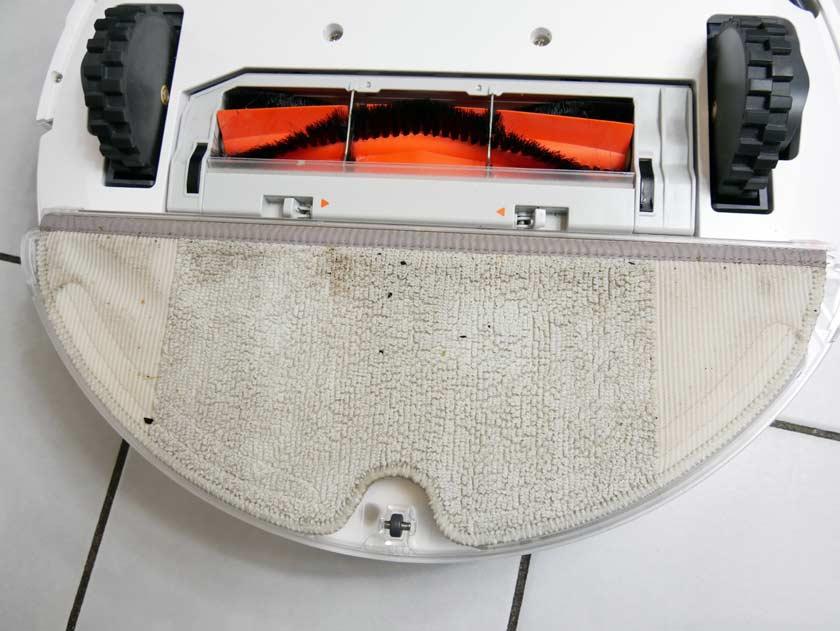 Xiaomi Roborock s50 résultat serpillère après lavage sol
