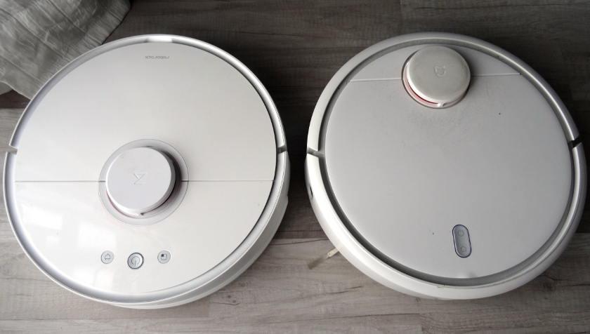 roborock s50 vs xiaomi mi robot présentation