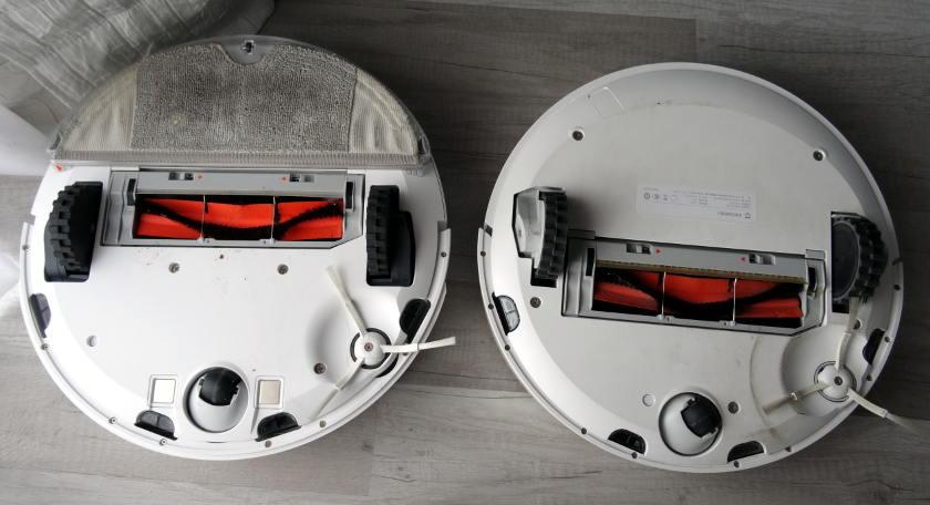roborock s50 vs xiaomi mi robot système aspiration brosse rotative