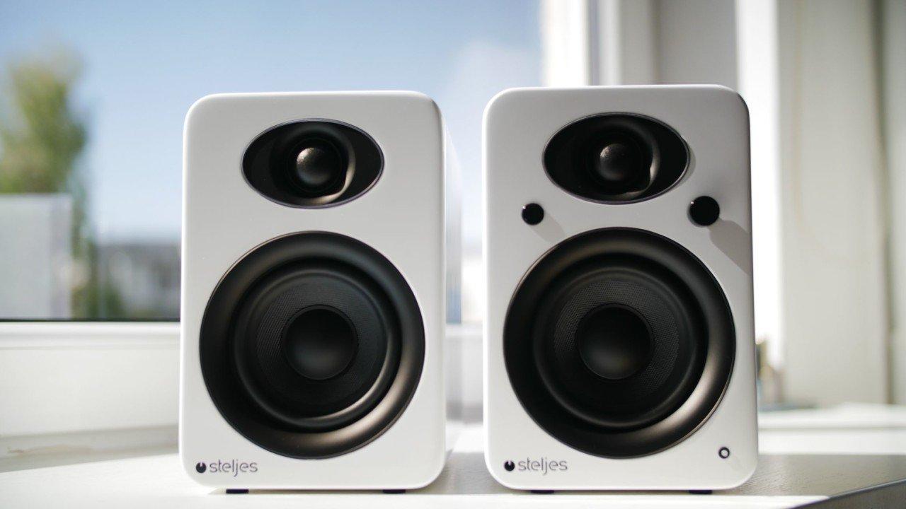 test hauts parleurs Steljes NS3