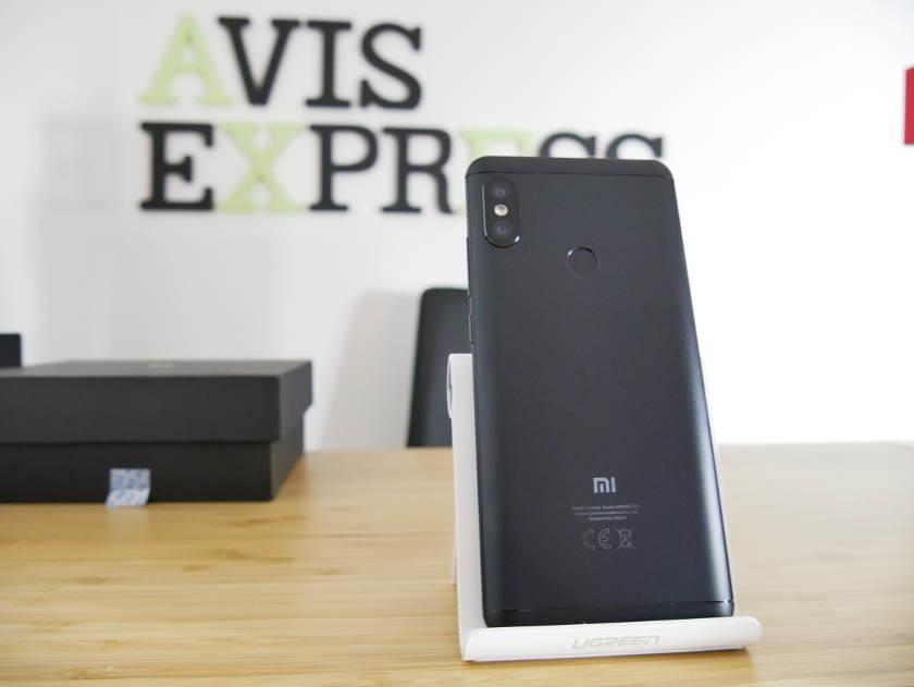 Xiaomi Redmi Note 5 face arrière