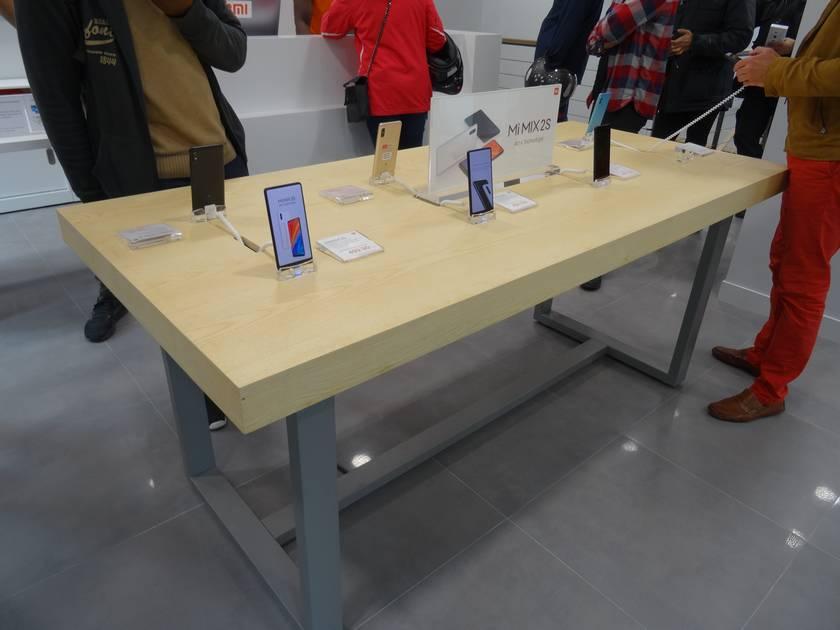 Xiaomi mi store paris smartphone mi mix 2s