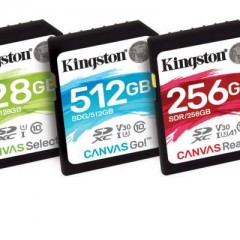 Test des nouvelles cartes SD et MicroSD Kingston Canvas React