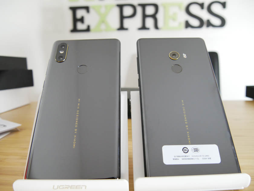 xiaomi mi mix 2s vs mi mix 2 coque arriere