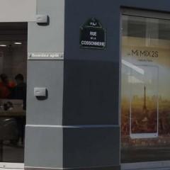 Visite du Xiaomi Mi store a Paris