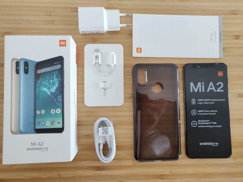 Test Xiaomi Mi A2 package