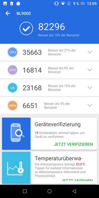 Test doogee bl9000 interface0004
