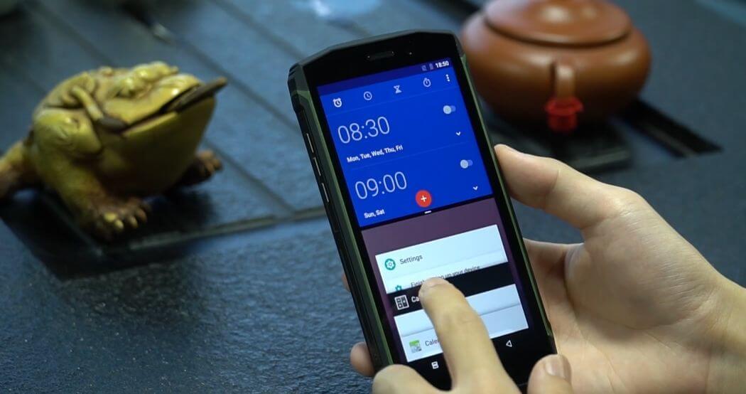 Test Blackview BV5800 Pro: Téléphone robuste avec Android 8.1