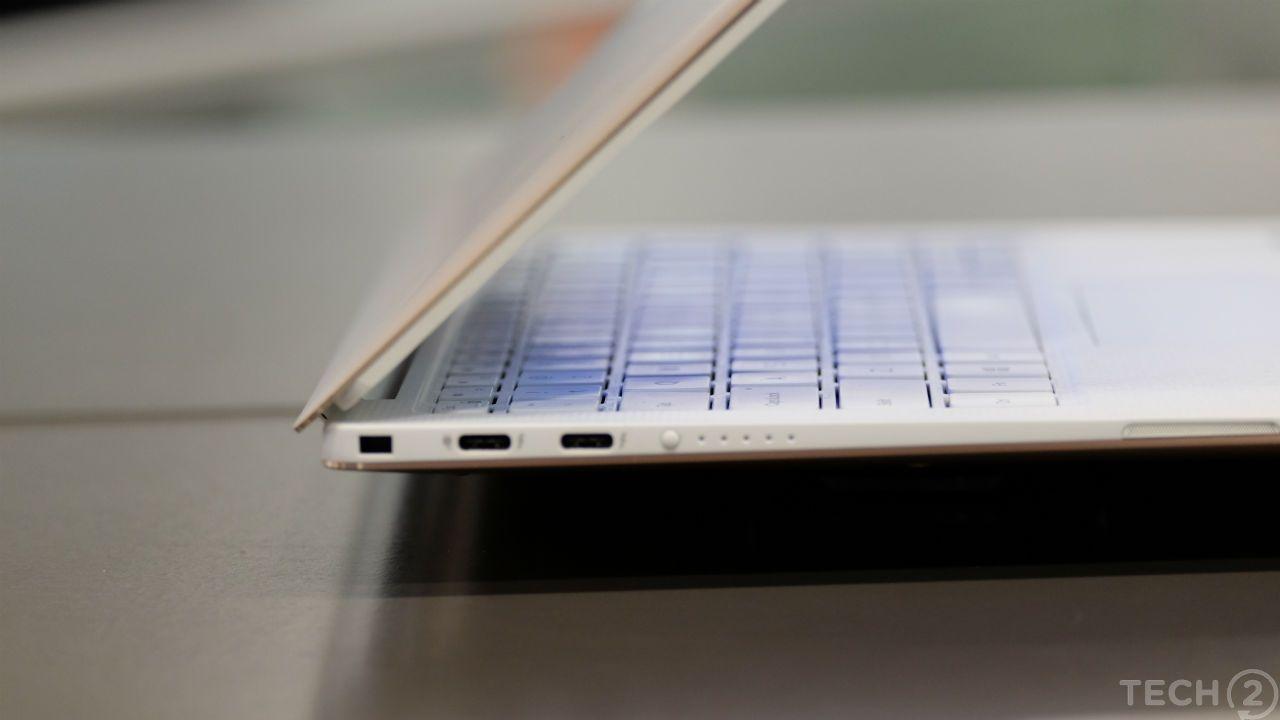 Dell, comme Apple, a opté pour une conception USB-C uniquement. C'est une décision frustrante et hostile à l'utilisateur qui n'a littéralement aucun sens sur un ordinateur portable.