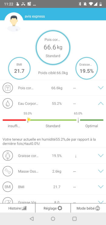test application balance hamswan indice détaillé