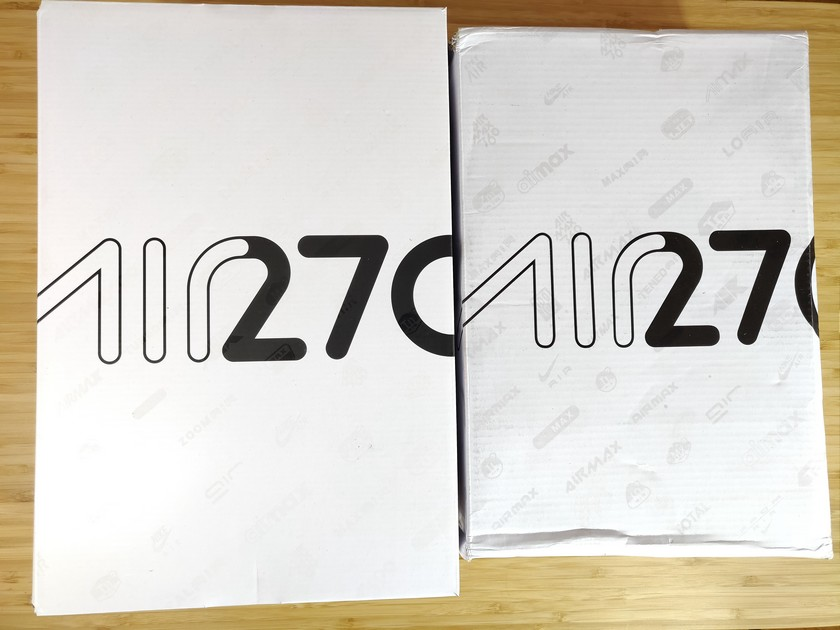 Nike Air max 270 vraies VS fausses boite