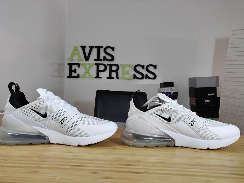 quality design b5c92 66cdd Nike Air max 270 vraies VS fausses profil intérieur