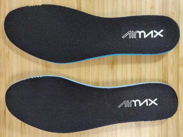 Nike Air max 270 vraies VS fausses semelles intérieur