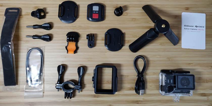 Test eken alfawise v50 Pro accessoires