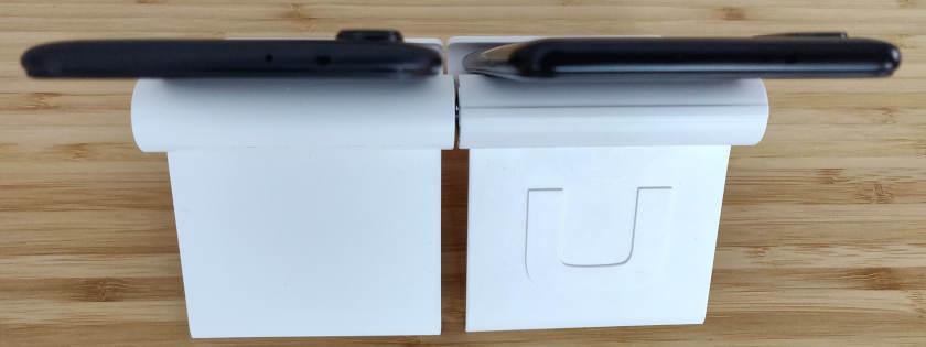 Xiaomi redmi note 5 VS Xiaomi Mi A2 épaisseur finesse