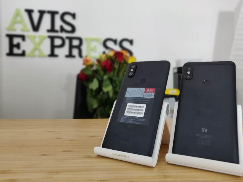 Xiaomi redmi note 5 VS Xiaomi Mi A2 arriere