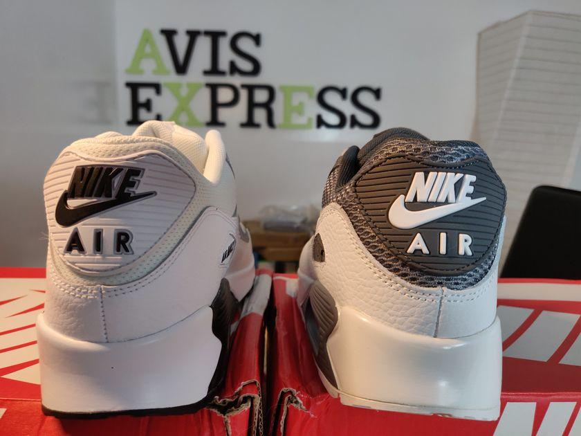 nike air max 90 aliexpress vs authentiques arrière