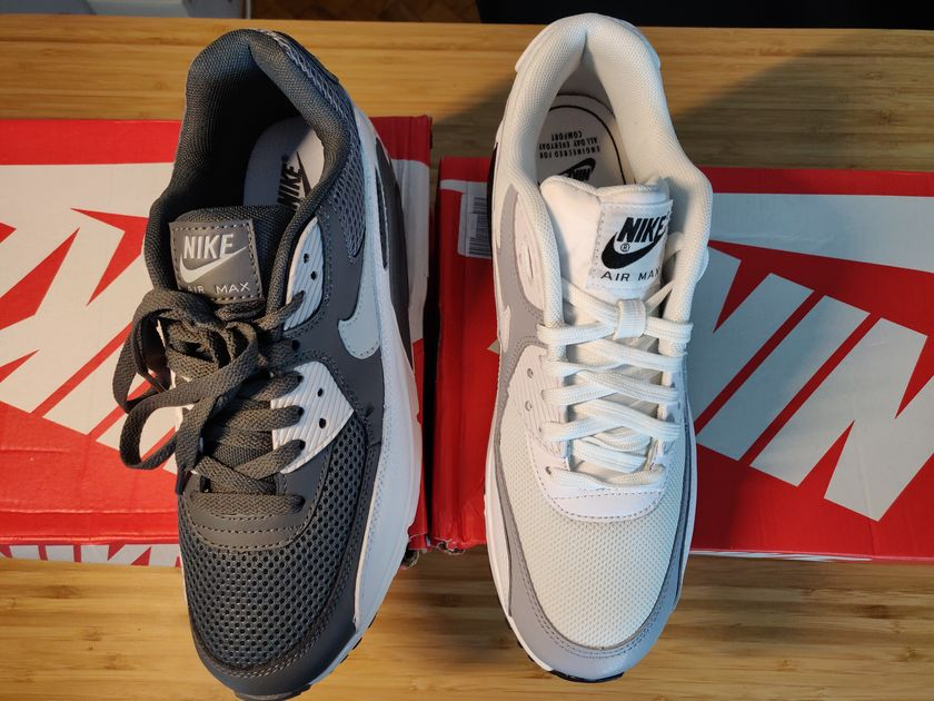 nike air max 90 aliexpress vs authentiques dessus languettes