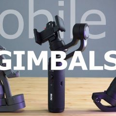 Comparaison de 3 Gimbal : DJI OSMO Mobile 3 VS Zhiyun Smooth Q2 VS Feiyu Vlog Pocket