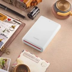 Test de la Huawei pocket printer