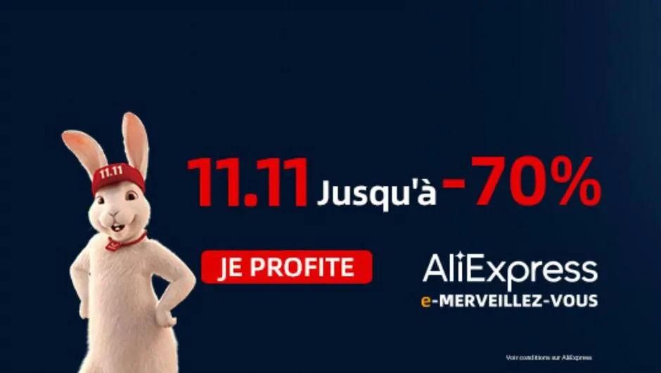 Tous les coupons Aliexpress du 11/11/2020